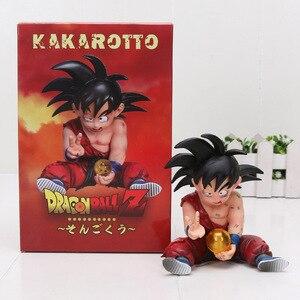 Image 3 - 11cm Anime Dragon Ball Fighter Z Majin Buu Cell PVC Action Figure Toys Model Kid Buu Freeza frieza Fina From