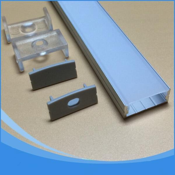 20PCS-1m lungime de conducere aluminiu profil profil-nr.LA-LP20B LED - Iluminat cu LED