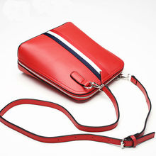 2016 Hot Genuine Leather Shell Crossbody Bags Teenager Girls Style Spell color Quality Women Handbags Shoulder Messenger Bags