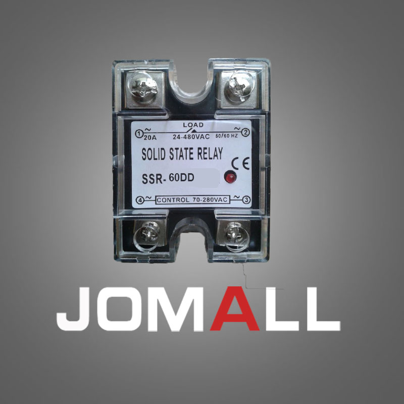 SSR -60DD-H DC control DC SSR Single phase Solid state relay 220V ssr 40da single phase solid state relay white silver