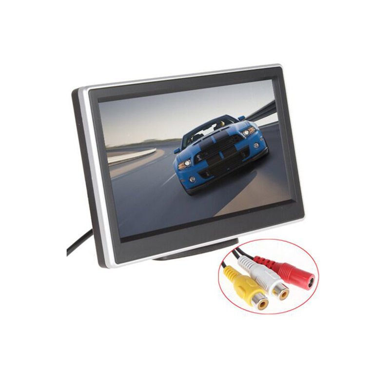 XYCING 800 x 480 Pixel 5 inch Car Monitor HD Digital Panel Rear View Camera Parking Rear View Monitor RVC 203