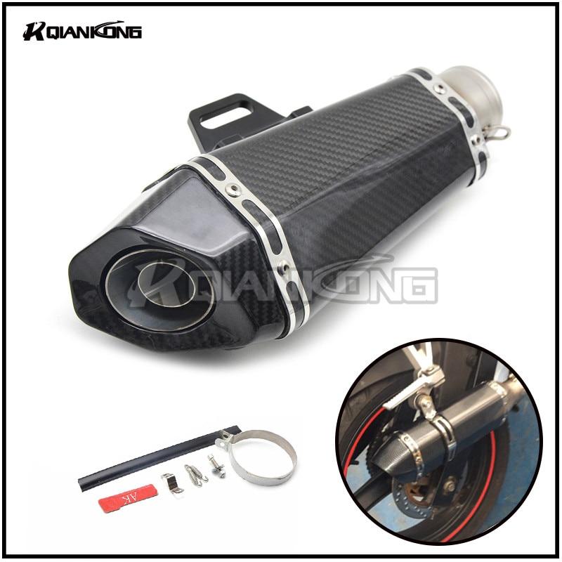 Universal Motorcycle Akrapovic Modified Exhaust pipe For Suzuki GSXR600 GSXR750 GSXR 600 GSXR 750 2006 2007 2008 2009 2010