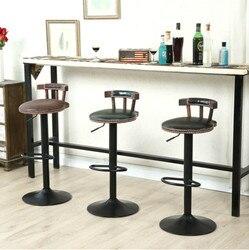 2 шт./лот Высокое качество барный стул может вращающийся металлический подъемный Европейский тип бытовой Повседневный кафе барный стул сто...