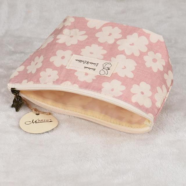 Xiniu cosmetic bag Women Cherry Blossoms Printing make up bag 22*8*13cm Maleta De Maquiagem Profissional organizer #0