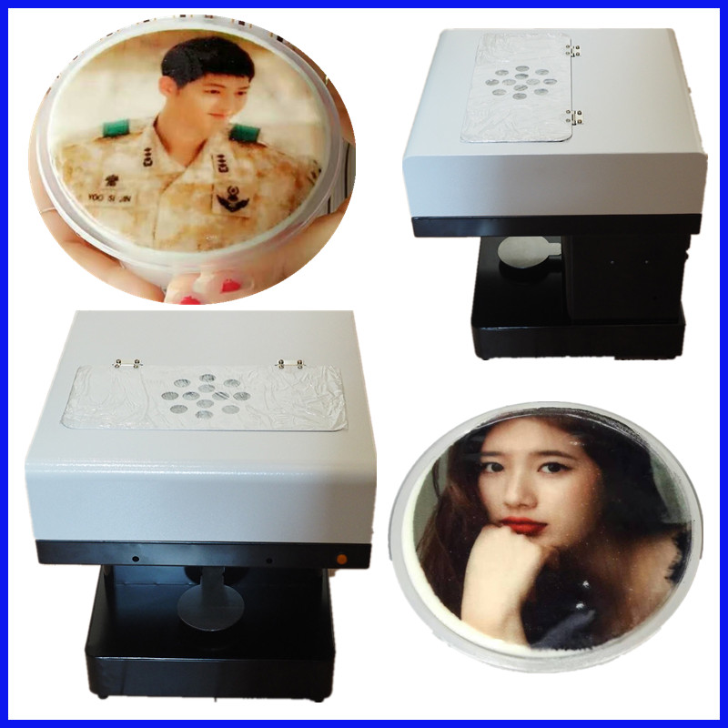 WIFI operated Edible ink Art Beverages Food Pull Flower selfie coffee printer