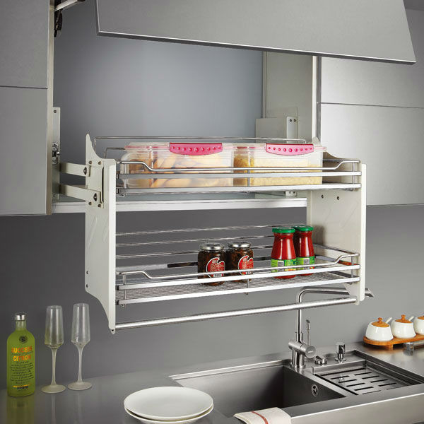 Beautiful Tandem Pull Out For Wall Cabinet Pull Out Basket Basket For High Cabinet  OP LK060QA