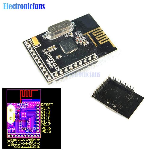 NRF24LE1 NRF24L01+ MCU Wireless Transceiver DIP Nrf24l01 Wireless Communication Module nE