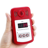 Electrical GAS Detector Wireless Digital LED Display Combustible GAS Detector For Home Alarm System