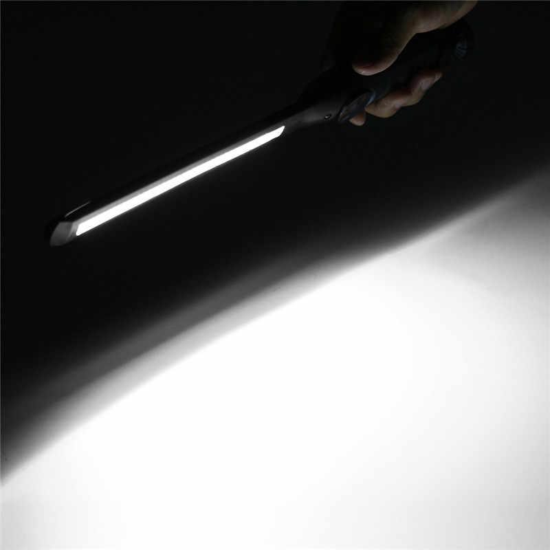 Smuxi المحمولة Cob Led سليم ضوء فلاش الصناعية القابلة لإعادة الشحن الصف عالية التجويف مع المغناطيس قاعدة العمل التفتيش ضوء القلم