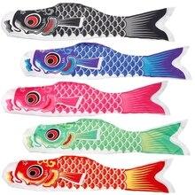 55 см Koi Nobori Карп ветер носки Koinobori красочные рыбы флаг висячий декор для стен JUL26_17