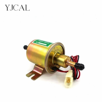 HEP-02A Electronic Fuel Pump 12V 24V Car Modification Oil Diesel Low Pressure Petrol For Motorcycle TOYOTA Ford Yanmar NISSAN rastp 12v electric fuel gas oil pump 3 6 psi pressure hep 02a universal for car truck boat rs fp009
