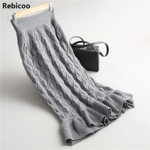 2018 Spring Autumn Long Pencil Skirts Women Sexy Slim Package Casual Skirt Lady Winter  Elegant skirts womens