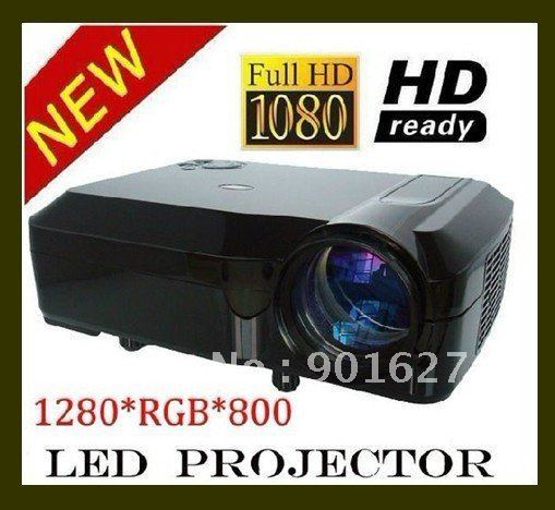 2600 lumen Native 1280*800 LED projector HD projector Movie PROJECTOR