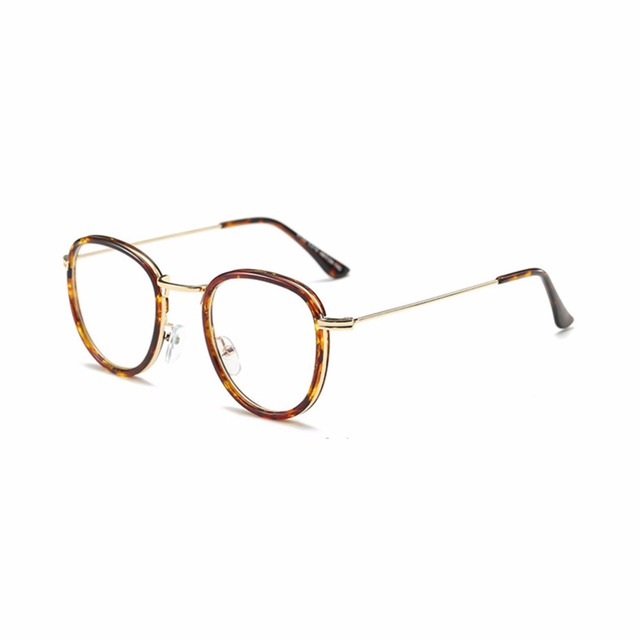 eb655a5b90 New fashion non-round frame glasses Full frame without strength fashion glasses  men and women universal