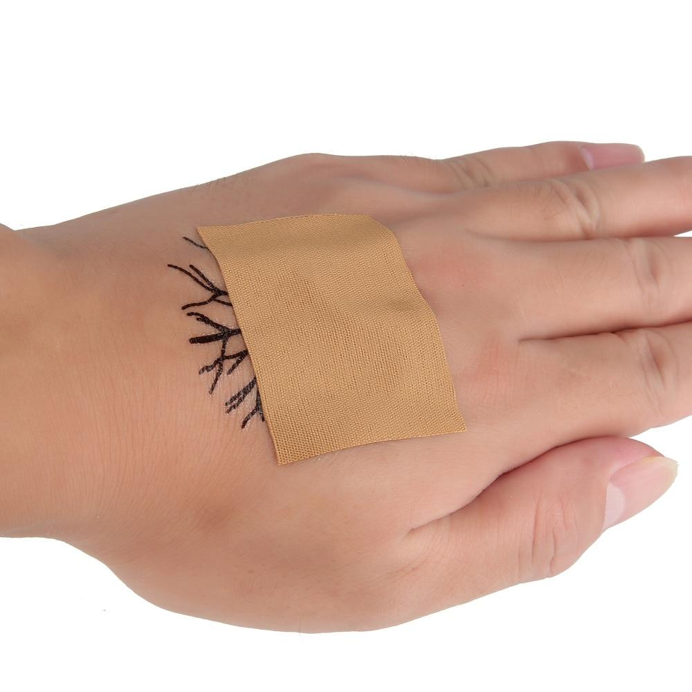BEAUTY7, 50 шт в наборе, смываемая Татуировка Self самоклеящийся Эластичный Бандаж с защитным козырьком Обёрточная бумага спортивная лента татуировки временная татуировка Стикеры