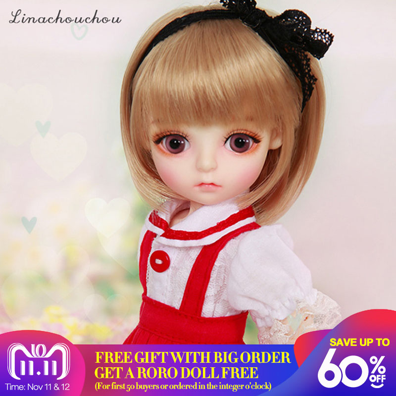Linachouchou Daisy 1/6 BJD SD Doll Model Boys or Girls Oueneifs High Quality Resin Toys For Girls Birthday Xmas Best Gifts doll chateau mephisto pheles 1 3 dc bjd sd doll model girls boys eyes high quality toys for girls birthday xmas best gifts
