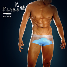 Hb brand &Flake C Boxers sexy men transparent clothes. One piece and China original brand. NO.1504