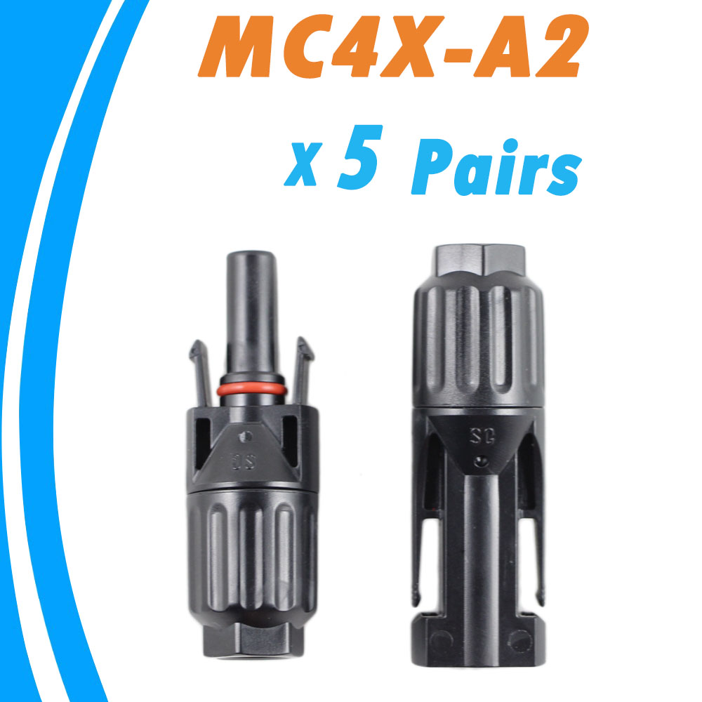 5 Pairs Male And Female Mc4 Solar Panel Connector Used For Plug Pinout Diagram Blackberry Pearl 8100 Cable Suitable Cross Sections 25mm260mm2 Mc4x A2