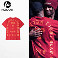 2017 Brand Clothing New Arrival Swag Men clothing Kanye I Feel Like Pablo 3 Hiphop Tee plus Size S-3XL