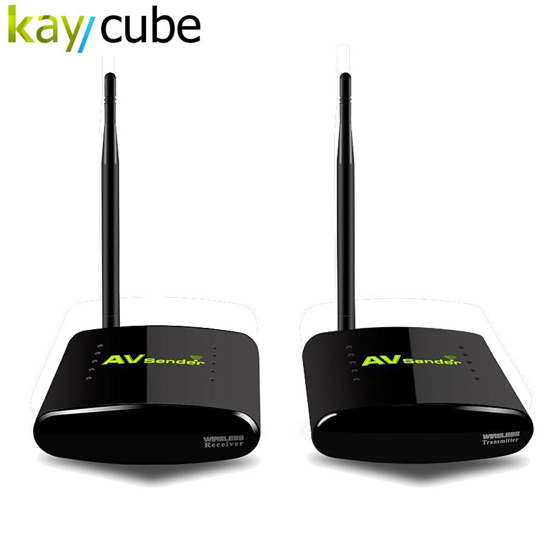 PAT-260 350M 2.4G Wireless AV Sender Transmitter Receiver for 2 Floors with IR Remote Extender UK US AU Plug PAT 260 аксессуары для видеонаблюдения av 250m 350 pat 350