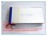 Free Shipping 3080160 Polymer Battery 5000 Mah 3 7 V MP4 Mobile Power Tablet Battery
