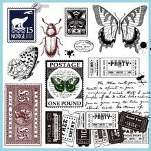 Силиконовая прозрачная печать с насекомыми, ручное украшение, скрапбукинг, изготовление карт, забавные украшения для детей