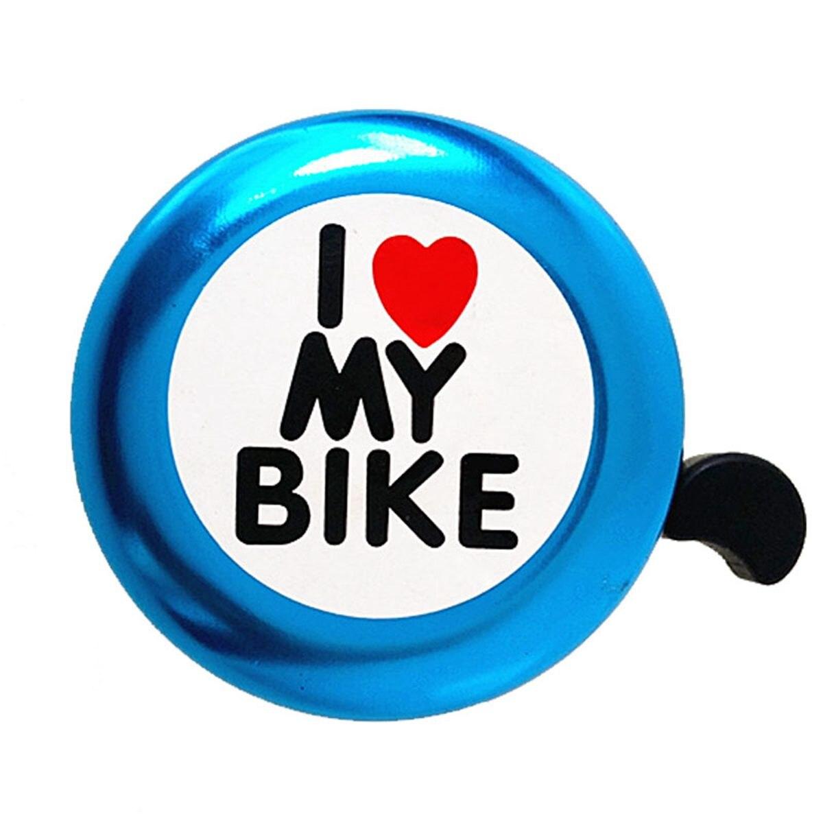 FLGT-Bicycle Bell - ' I Like My Bike' Bike Horn - Loud Aluminum Bike Ring Mini Bike Accessories for Adults Men Women Kids Girl