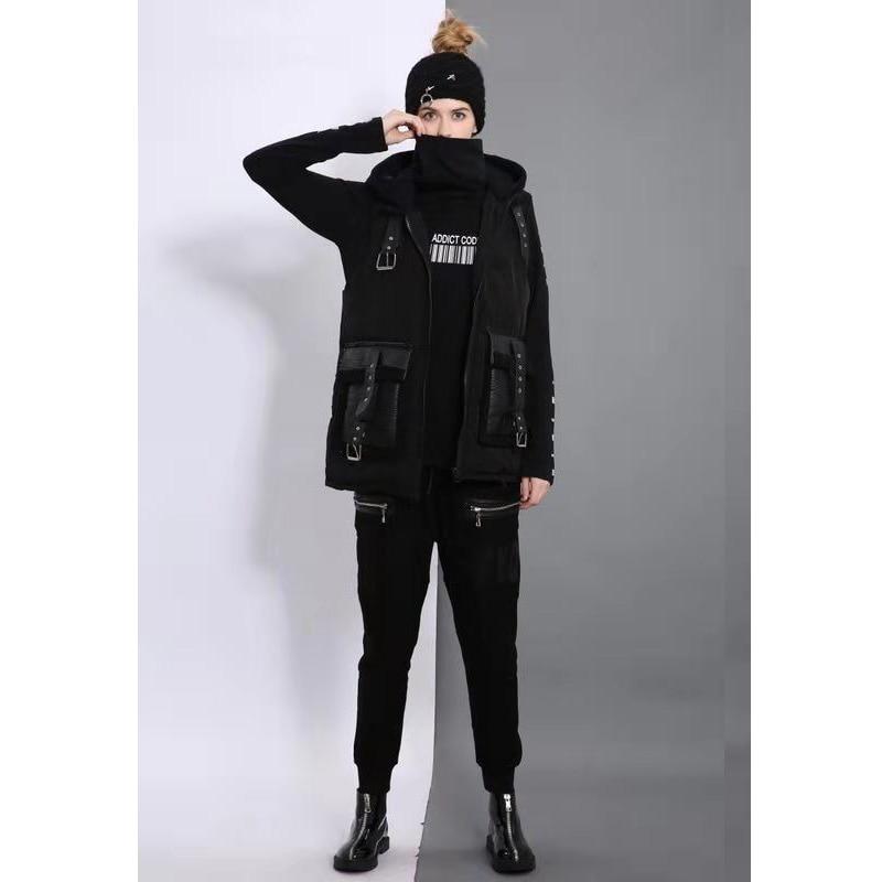 D'hiver A031 Chaud Veste Coton Automne Newbrand Taille Streetwear 6072 A031 Printemps La Mince 2018 Femmes Plus Gilet À Capuchon Femelle B7fqn