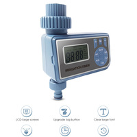 Garden Irrigation Timer Automatic Controller Single Outlet Hose Faucet Timer With Multi Time Settling Function Family Garden|Garden Water Timers| |  -