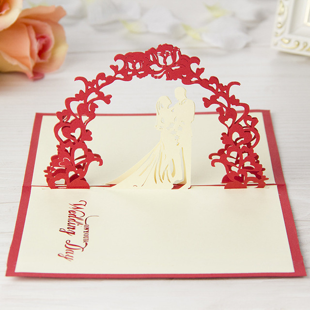10pcsset romantic wedding day invitation card valentine love 3d 10pcsset romantic wedding day invitation card valentine love 3d handmade greeting cards with envelope m4hsunfo Choice Image