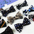 2016 Fashion Male Bow Ties For Men Married Decoration Butterfly Block Color Dress Suit Gravatas British Explosion Papillon #A0