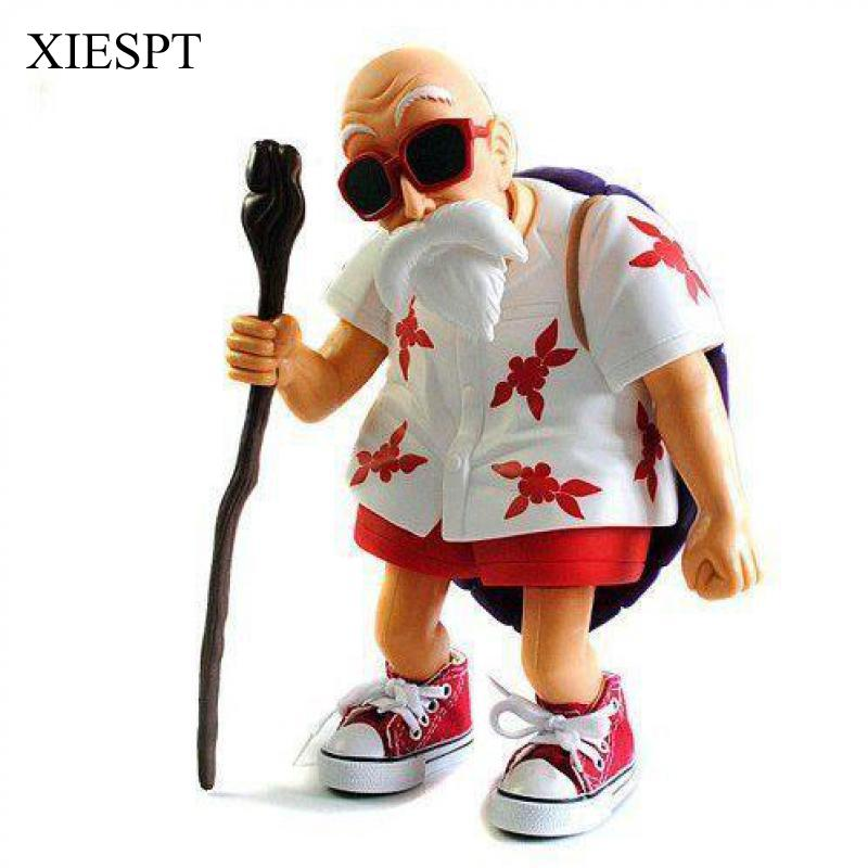 Anime Dragon Ball Z PVC Action Figure Toys Master Roshi Model Collection Gifts free shipping anime dragon ball master roshi pvc action figure collection model toy 25cm orange new loose