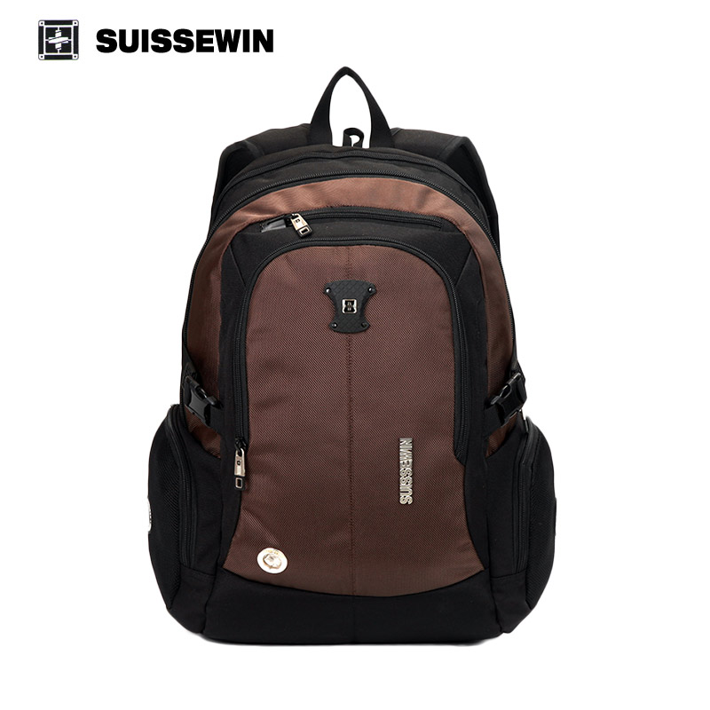 suissewin swiss quality backpack gear 15 inch laptop backpack sac a dos large capacity. Black Bedroom Furniture Sets. Home Design Ideas
