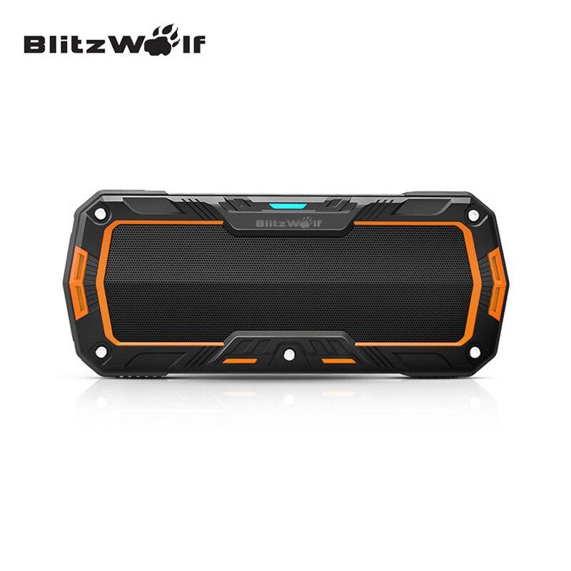 BlitzWolf Mini Bluetooth Waterproof font b Speaker b font Wireless Portable Outdoor Hands Free font b