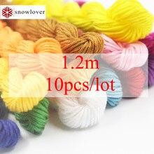 Снеговик, вышитая картина 10 шт./партия 1,2 м разноцветная опция DMC3350-3733 вышивка крестиком хлопковое шитье, моток пряжи вышивка нить