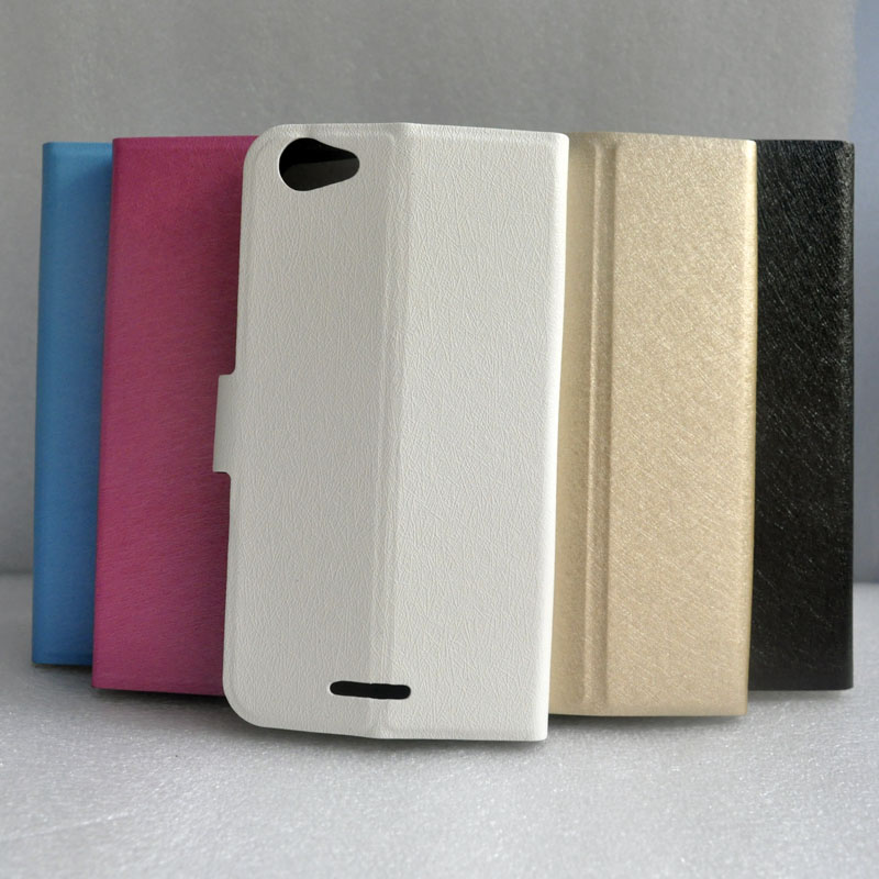 For Highscreen Power Rage Evo Case Silk Pattern <font><b>Flip</b></font> Open Back <font><b>Smartphone</b></font> With Stand Holder Cover