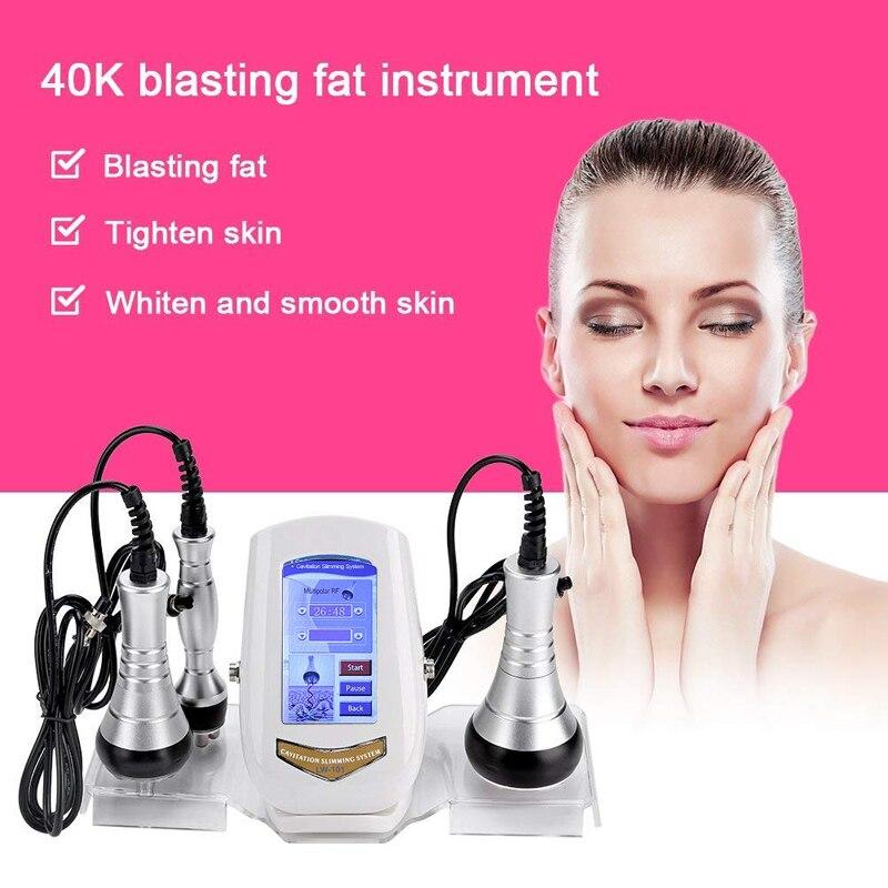 Аппарат для похудения, прибор для похудения, косметическое оборудование против морщин, 40 K, радиочастотный Массажер для сжигания жира