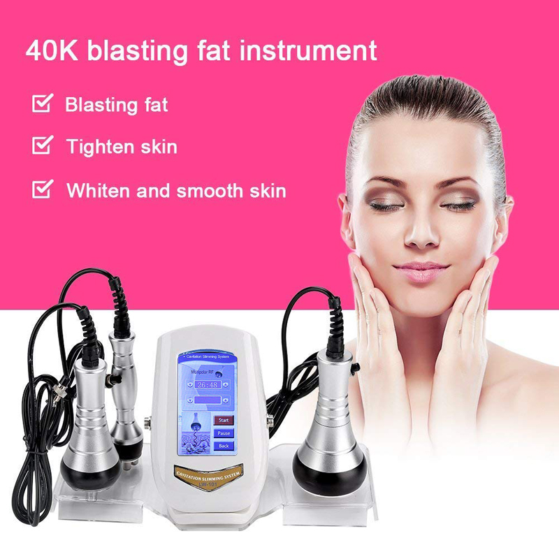 Body Slimming Machine Fat Removal Negative Waist Shaping Massager 40K Weight Loss Instrument Anti-Wrinkle Beauty Equipment