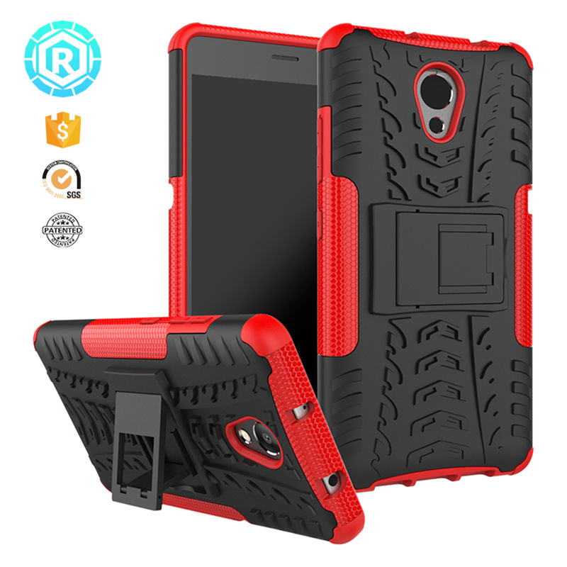R For Lenovo P2 Case 5.5 inch Silicone TPU + Hard PC Dual Armor with Stand For Lenovo Vibe P2 Cover For Lenovo P2 P2a42 Case