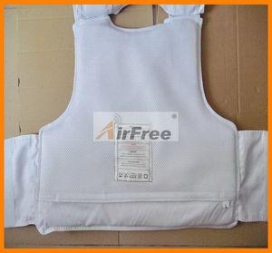 Image 4 - 44 magnum 9mm Bulletproof vest NIJ IIIA Protection Police Body Armor ballistic Jacket NIJ0101.06 Size L XL Black or White Color