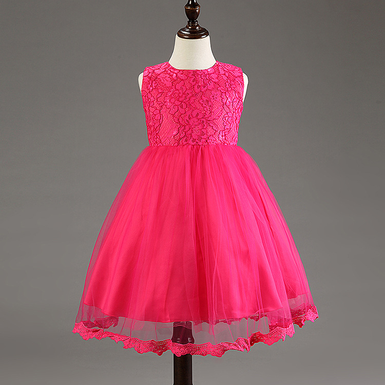 toddler girls gowns little girl party frock evening dresses kids ...