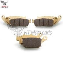 Мотоциклетные Передние Задние тормозные колодки для Honda CB650 F CB 650F CB650F CBR650 F CBR650F CBR 650F- CB400 SF 1992-1995 1998