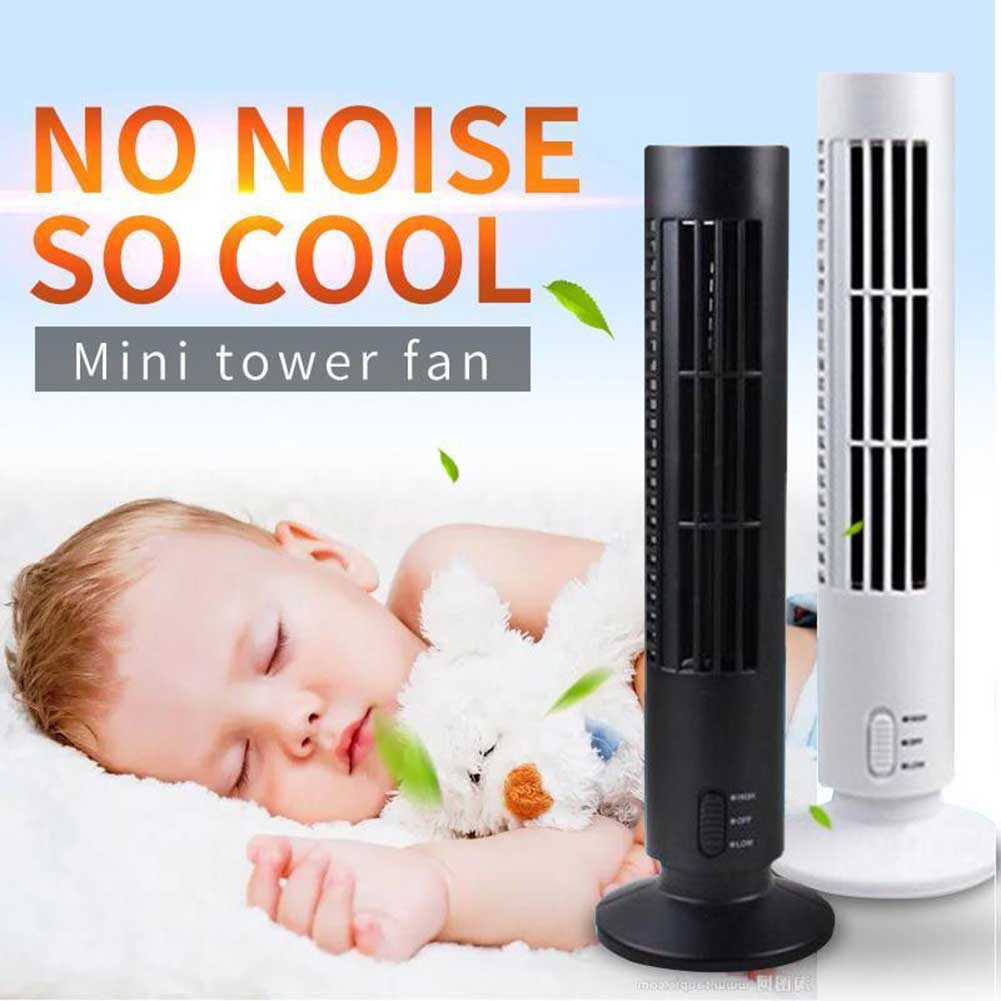 купить Fashion Useful Mini Portable USB Cooling Air Conditioner Purifier Tower Bladeless Desk Fan for Home Office Room HY99 AU09 по цене 854.05 рублей