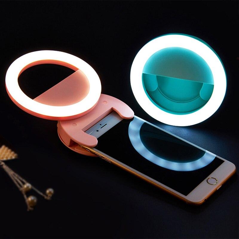 Studio Lighting For Streaming: Aliexpress.com : Buy Smartphone LED Ring Selfie Light