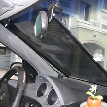 Auto Windshield Side Window Retractable Sunshade Shield Sun Protection