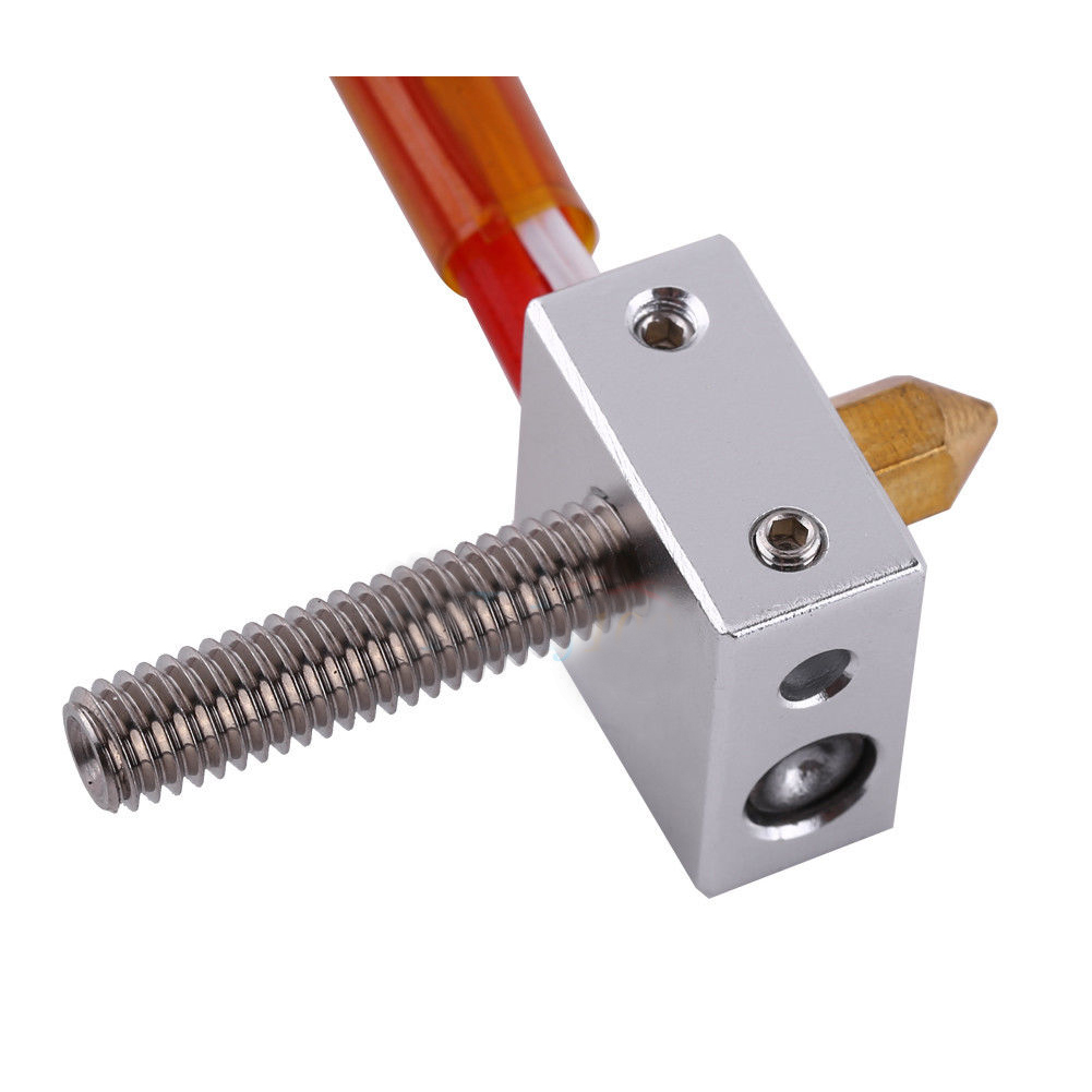 MK8 1.75mm to 0.4mm Nozzle Print Head Hot End Assembled for Extruder 3D Printer