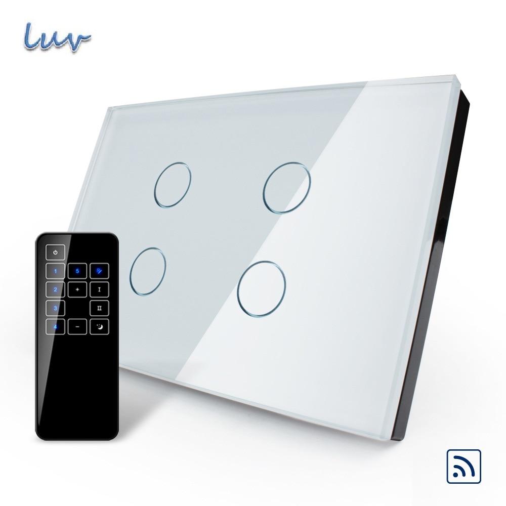 Valuebox, США/AU Стандартный, сенсорный выключатель, vl c304r 81vl rmt 03, кристалл Водонепроницаемый Стекло Сенсорный экран Выключатель света и Сенсорный пульт