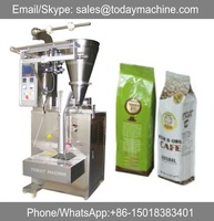 Automatic side gusset foil lined bags coffee powder packaging machine