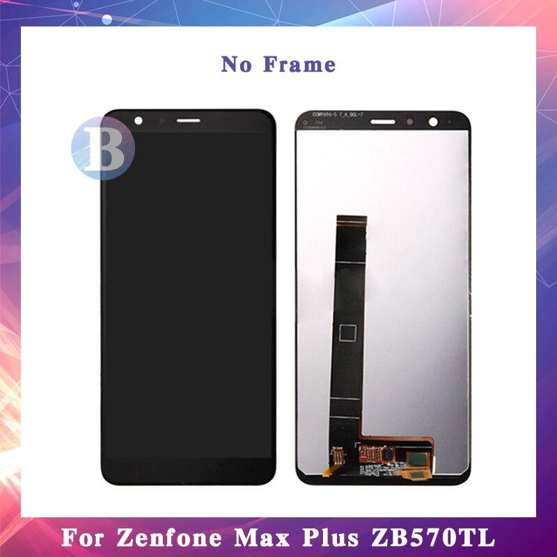 5.7 ''pour Asus Zenfone Max Plus ZB570TL X018DC écran d'affichage à cristaux liquides avec écran tactile numériseur assemblée de haute qualité