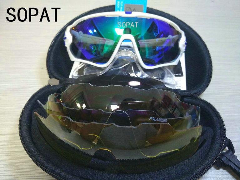 HTB1xOAEPVXXXXahaFXXq6xXFXXXg - 2018 4 Lens Mountain Velo Goggles Polarized Jaw Breaker Sunglasses Men Women MTB sopat Eyewear JBR Sun Glasses with Myopia Frame